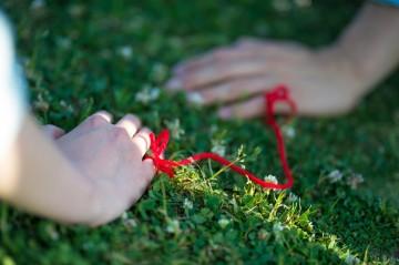 赤い糸アップ